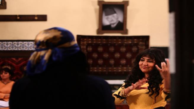 صورة ذرائع العنف: المرأة في الدراما السورية