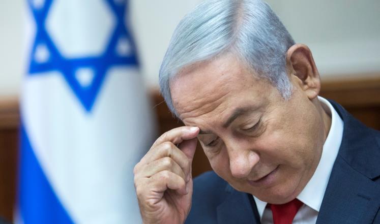 صورة نتنياهو قد يسبب الصلع للإسرائيليين؟