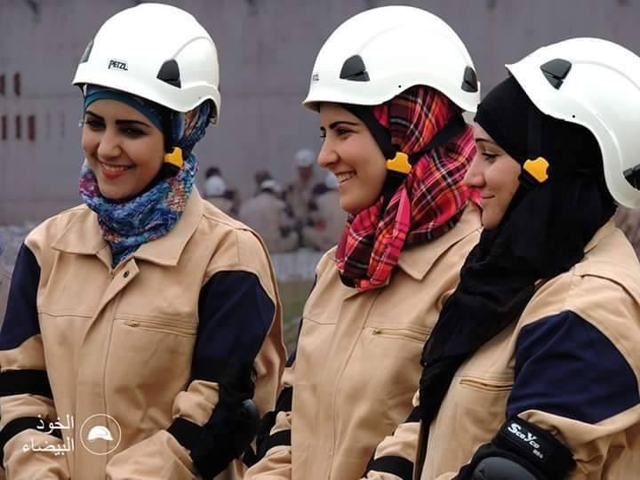 """صورة وزيرة بريطانيا تبحث في الأردن مصير """"الخوذ البيضاء"""""""