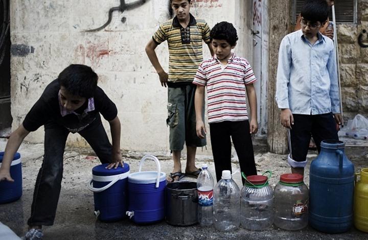 صورة أكثر من 100 حالة تسمم في مدينة الرقة