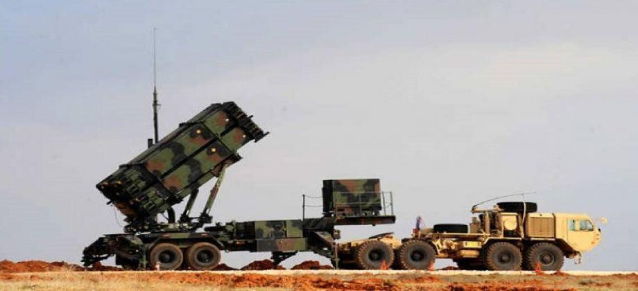 صورة يني شفق: دفاعات جوية أمريكية شمال سوريا
