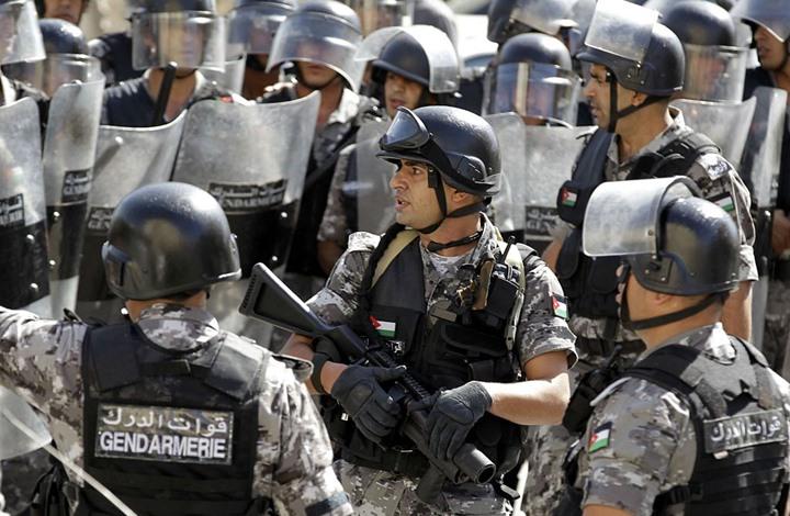 صورة مقتل 3 رجال أمن بالأردن أثناء مداهمة أمنية