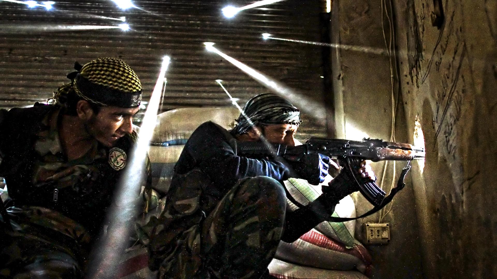 صورة هل يعاودون الهجوم عبر سوريا؟