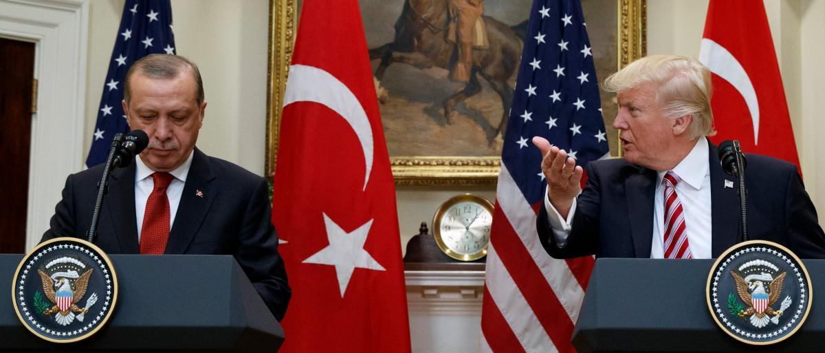 صورة أردوغان لأمريكا: لكم دولاراتكم ولنا ربنا
