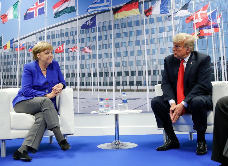 """صورة قلق أميركي ألماني بشأن إدلب.. وروسيا مطالبة بـ""""التصرف"""""""