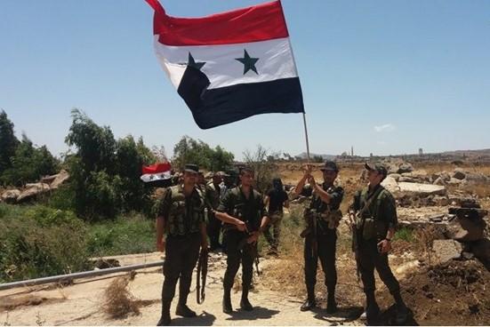 صورة النظام السوري يعلن سيطرته على كامل حوض اليرموك
