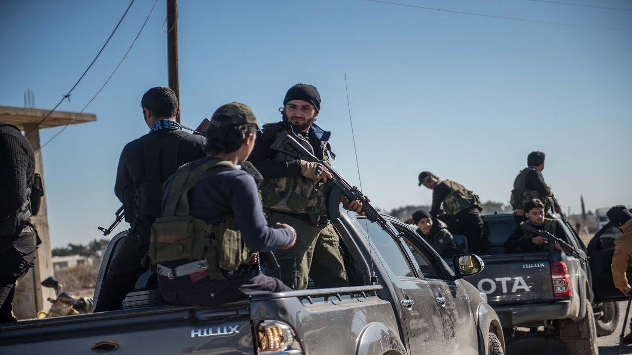 صورة المعارضة تدك مواقع للنظام شمال حماة
