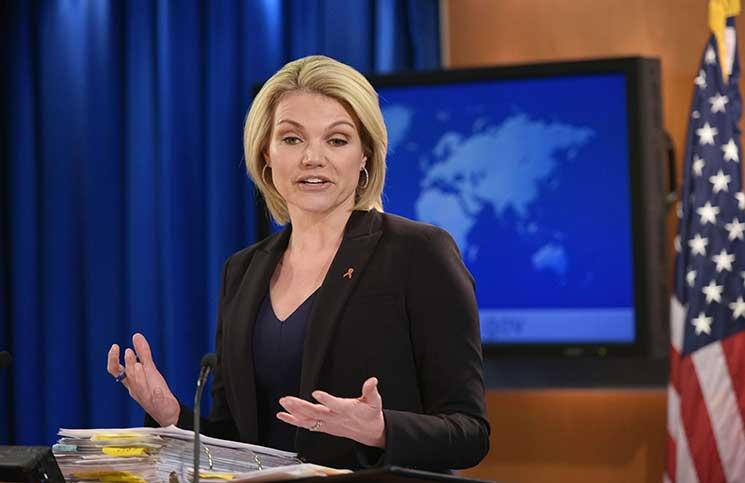"""صورة الخارجية الأمريكية تنفي أي لقاء مع """"علي مملوك"""""""