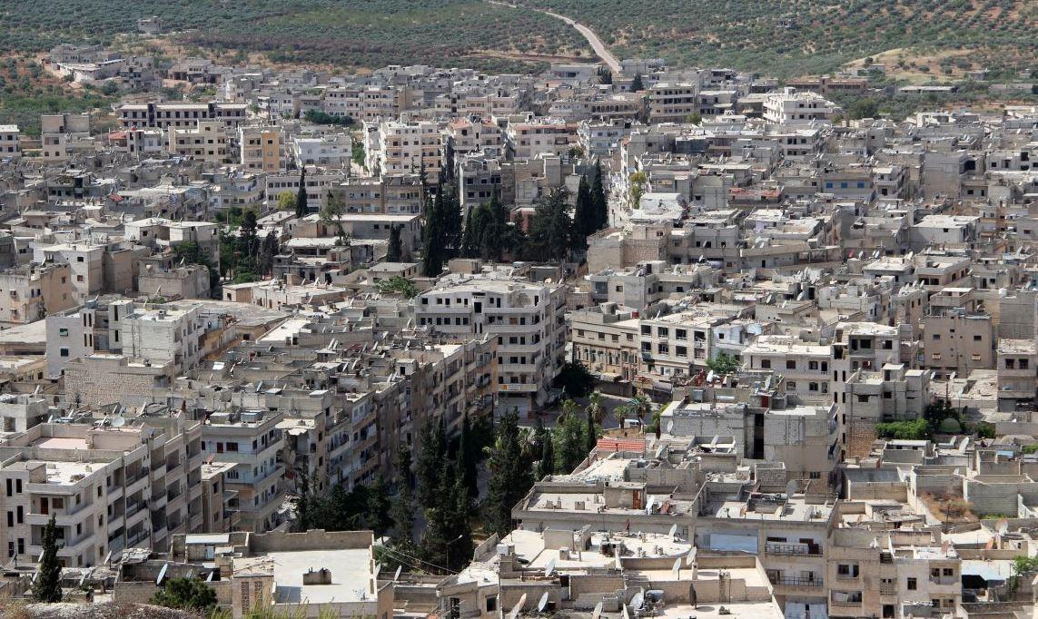 """صورة """"ي ب ك"""" يلعب لعبة خطيرة في إدلب"""
