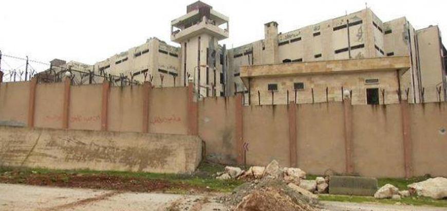 صورة هروب سجناء من سجن إدلب المركزي