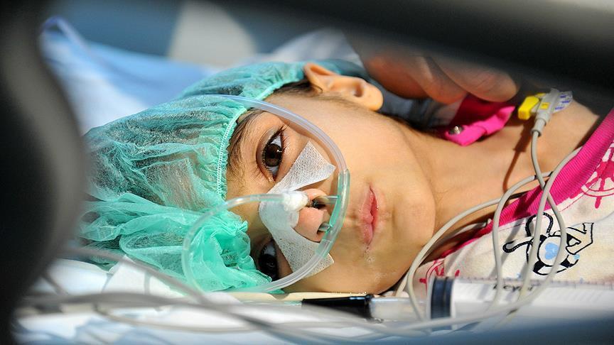 """صورة وفاة الطفلة """"رهف"""" بإحدى مستشفيات تركيا"""