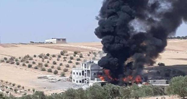 صورة الشبكة السورية: استهداف 15 مركزاً حيوياً في آب