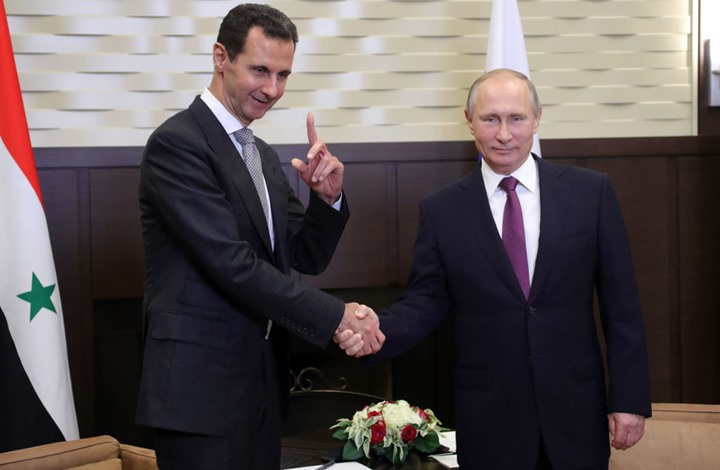 صورة الأسد يعزي بوتين..ماذا قال له؟