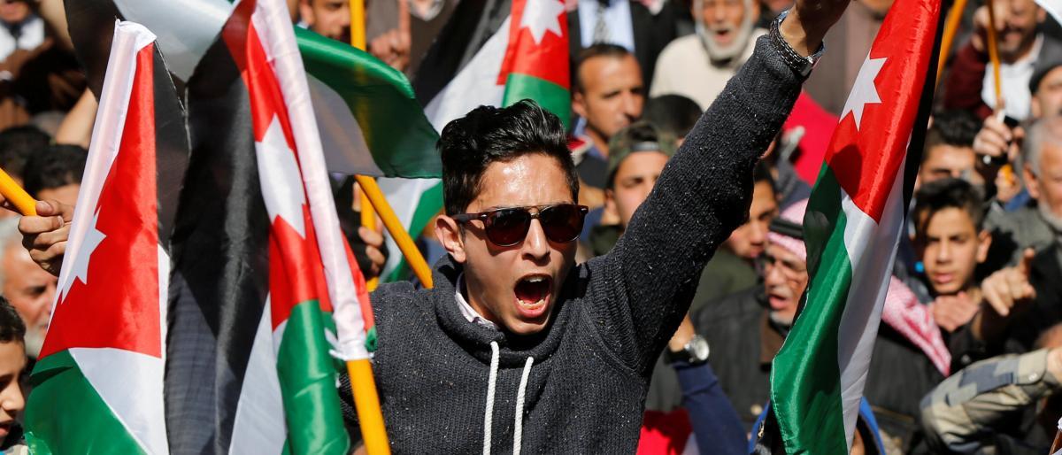صورة الأردن على صفيح ساخن ودعوات لأكبر عصيان مدني