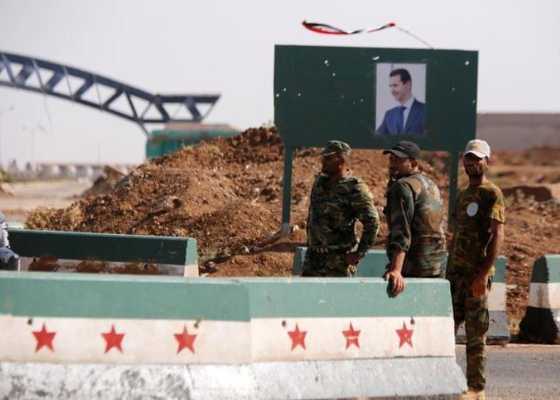 صورة الأسد يعيد افتتاح معبر نصيب مع الأردن
