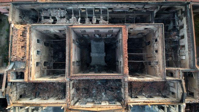 صورة حريق متحف البرازيل: 8 معلومات تكشف حجم الكارثة