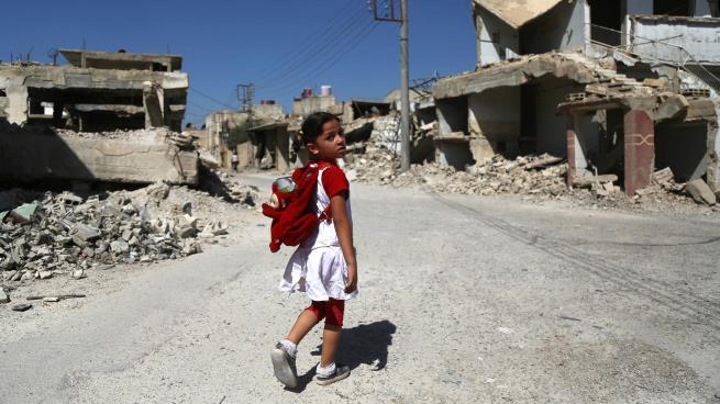 صورة تلاميذ سورية..الشمال يحتضن أبناءه والمهجّرين