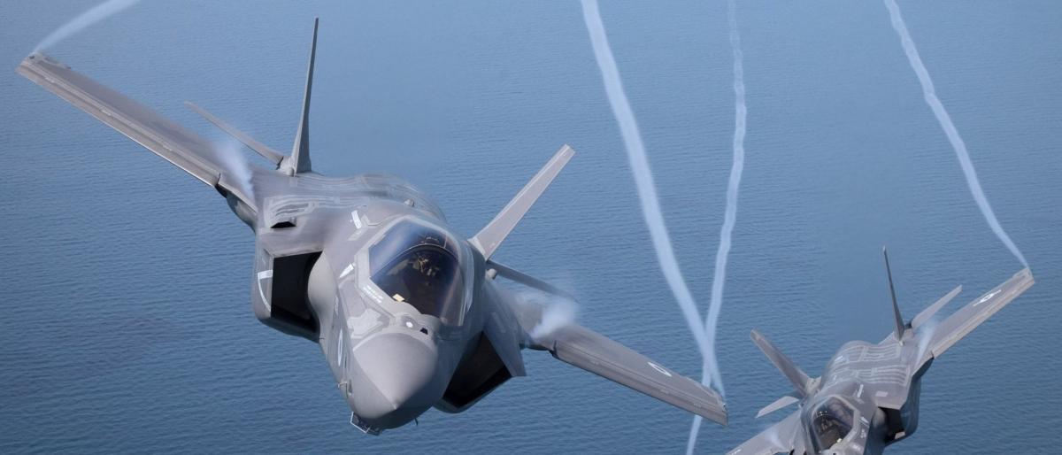 صورة لأول مرة.. تحطّم المقاتلة الشبح F-35B