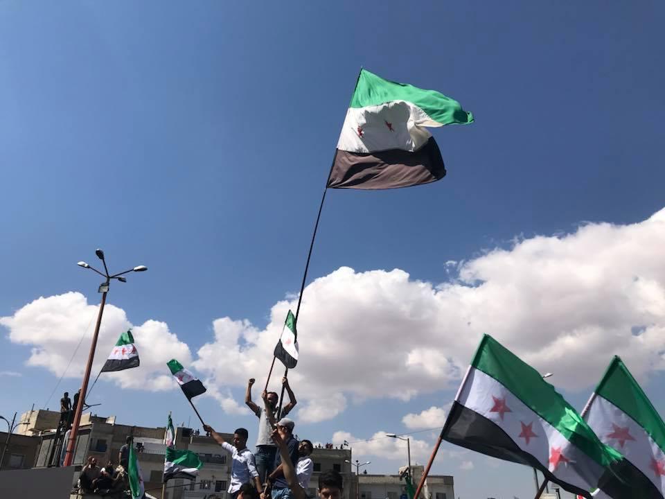 صورة الثورة السورية تعود لثورتها الأولى