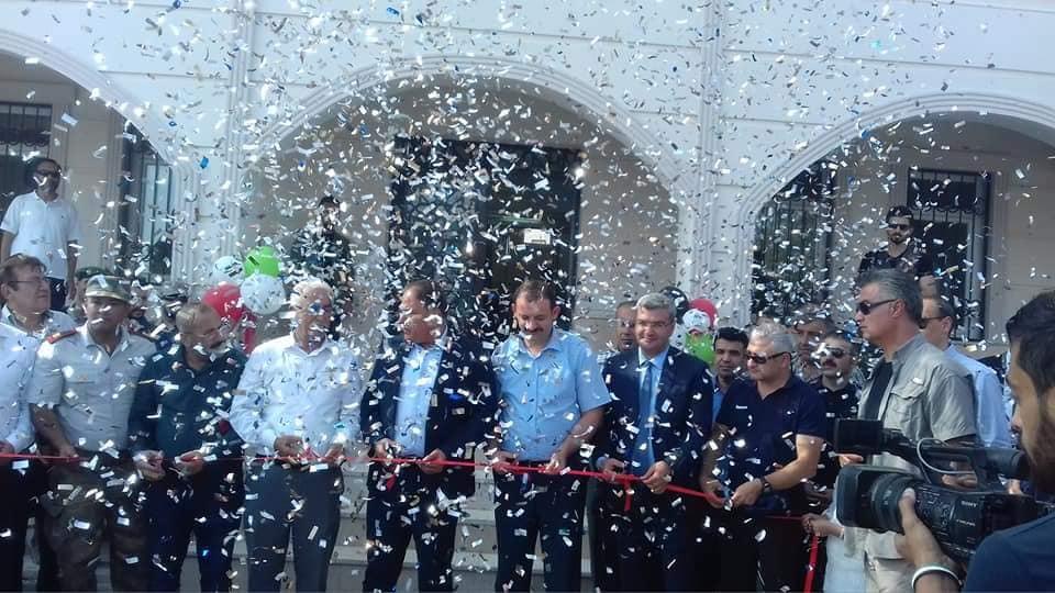 صورة افتتاح أول قصر عدلي بريف حلب
