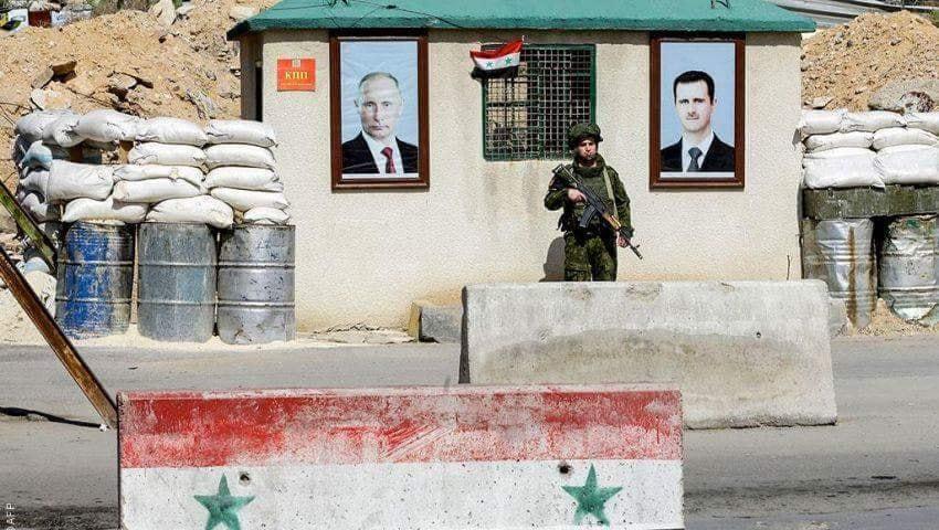 صورة صحيفة: تقسيم سوريا هو الحل!
