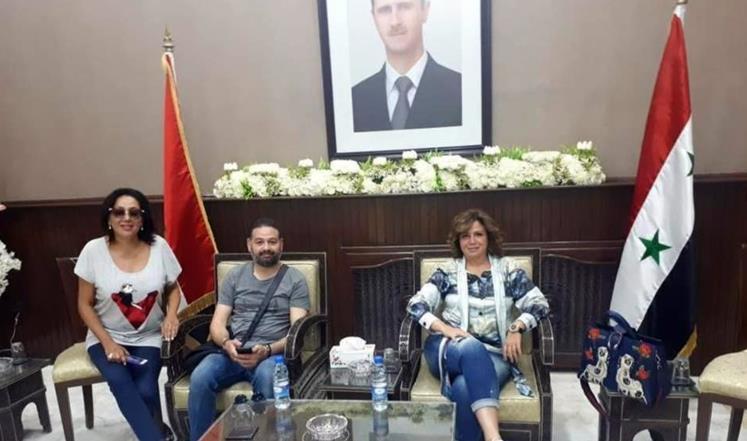 صورة تصريحات لإلهام شاهين تغضب مصريين وسوريين