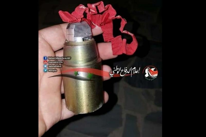 صورة حماة..النظام يقصف مدينة مسيحية بالعنقودي ويتهم المعارضة