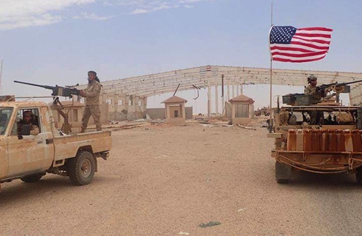 صورة تدريبات لجنود أمريكيين مع مقاتلي المعارضة جنوب سوريا