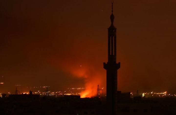 صورة انفجارات المزة..نظام الأسد يتراجع ويقدم رواية جديدة!