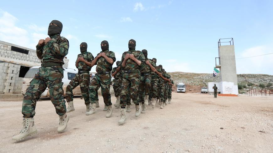 صورة هدنة بين تحرير الشام والجبهة الوطنية