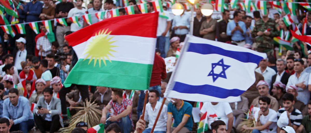 صورة تحقيق يكشف دعم إسرائيل والإمارات لانفصال كردستان