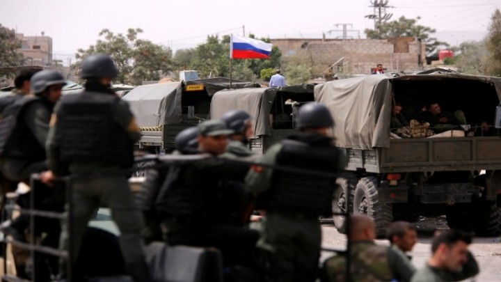 صورة نداء سوريا: روسيا تفكك الفيلق الخامس بدرعا