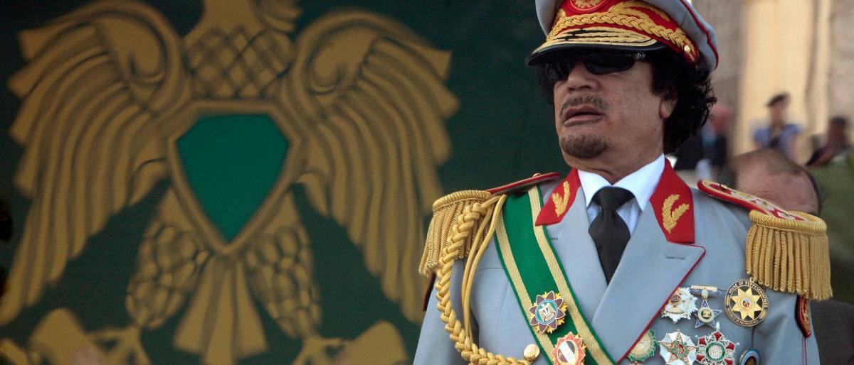 """صورة """"الغلطة"""" التي قتلت القذافي"""