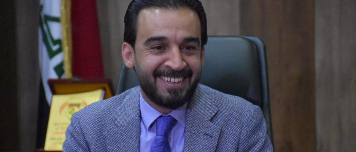 """صورة عمره 36 عاماً.. من هو """"الحلبوسي"""" رئيس برلمان العراق الجديد؟"""