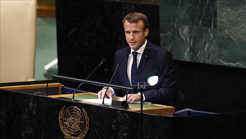 صورة ماكرون: يتعين وضع استراتيجية بشأن إيران وعدم الاكتفاء بالعقوبات