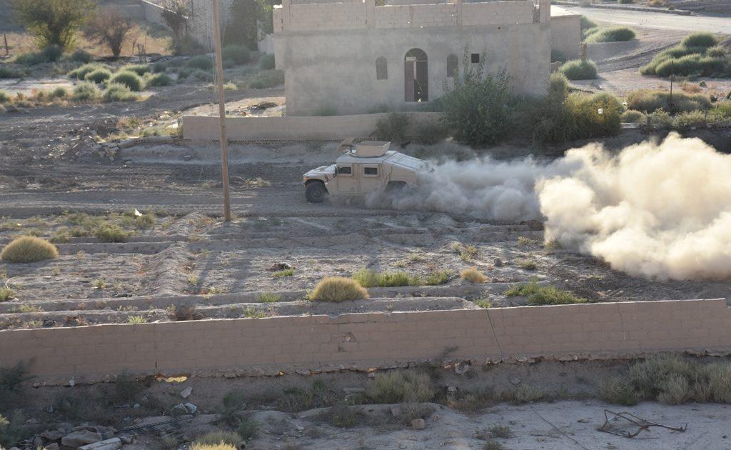 """صورة دير الزور..مواجهات متصاعدة بين تنظيم الدولة وقوات """"قسد"""""""