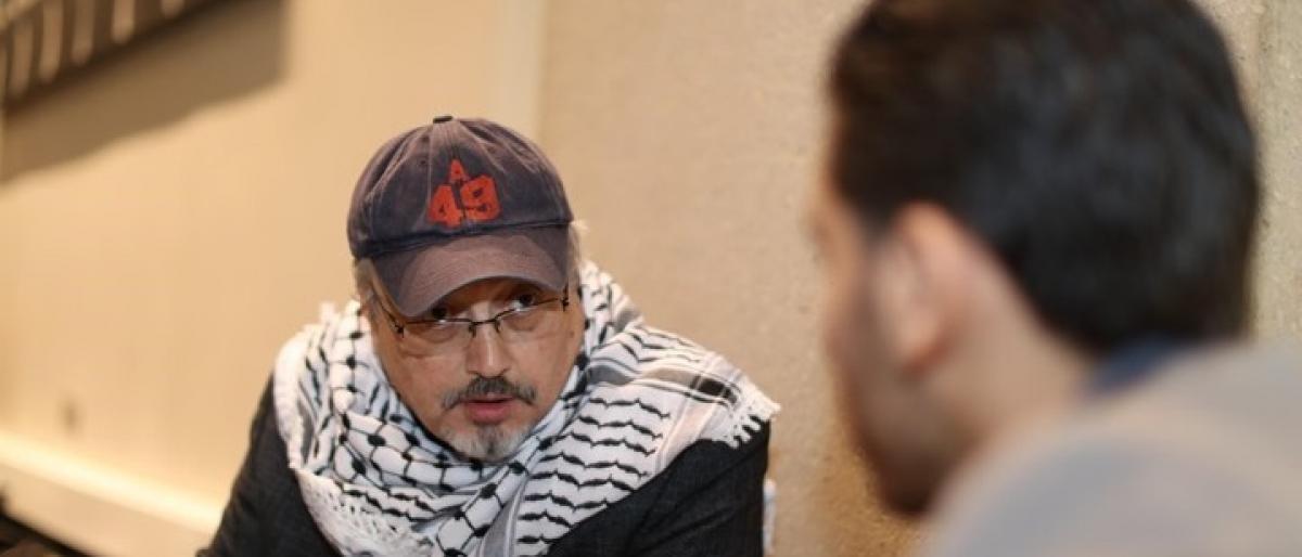 صورة نجل خاشقجي يصل واشنطن لمقاضاة قتلة والده
