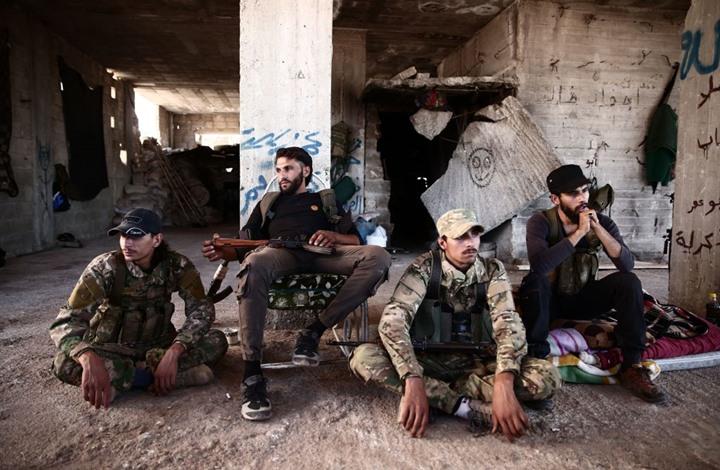 صورة لليوم الثاني.. تواصل الاقتتال بين فصائل المعارضة بريف حلب