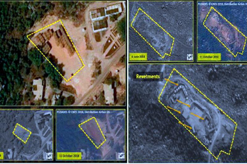 """صورة قمر تجسس إسرائيلي يرصد مواقع """"إس 300"""" بسوريا"""