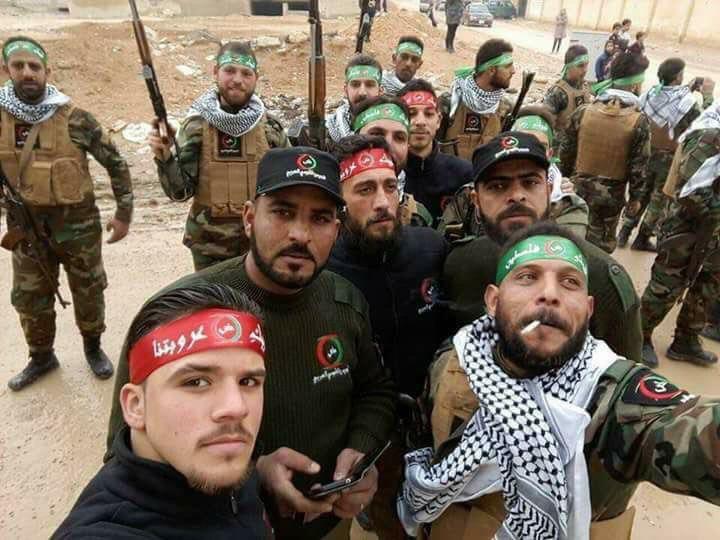 صورة السويداء: تنظيم الدولة يقتل 14 عنصراً من جيش التحرير الفلسطيني