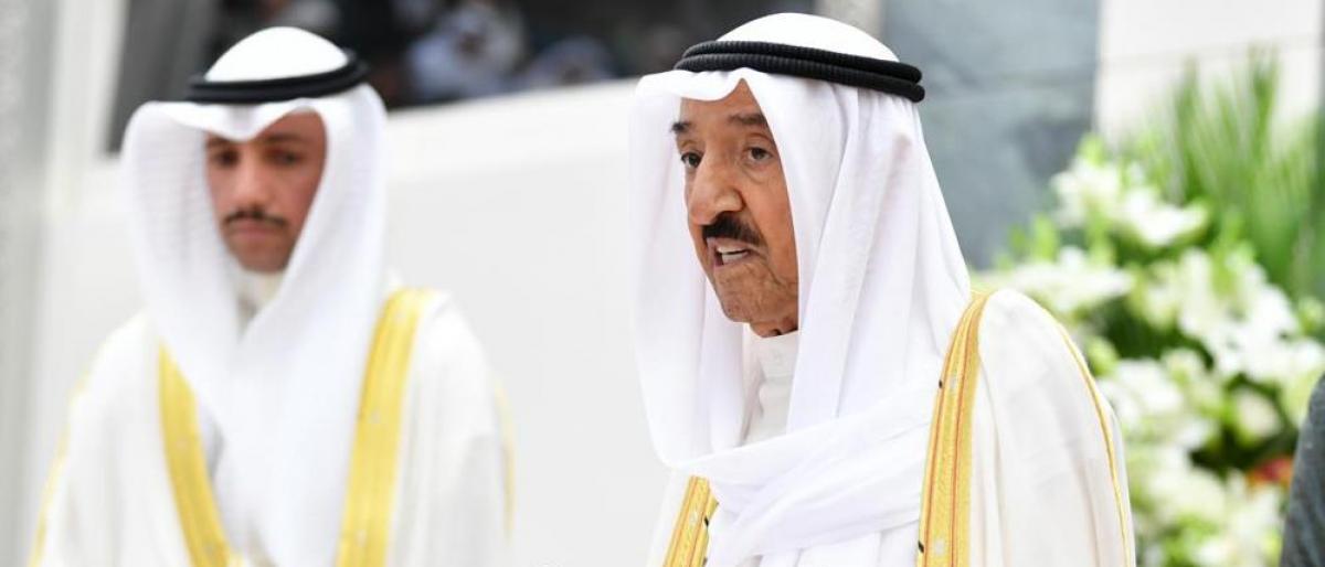 صورة أمير الكويت: المنطقة تحولت لساحة صراعات وتصفية