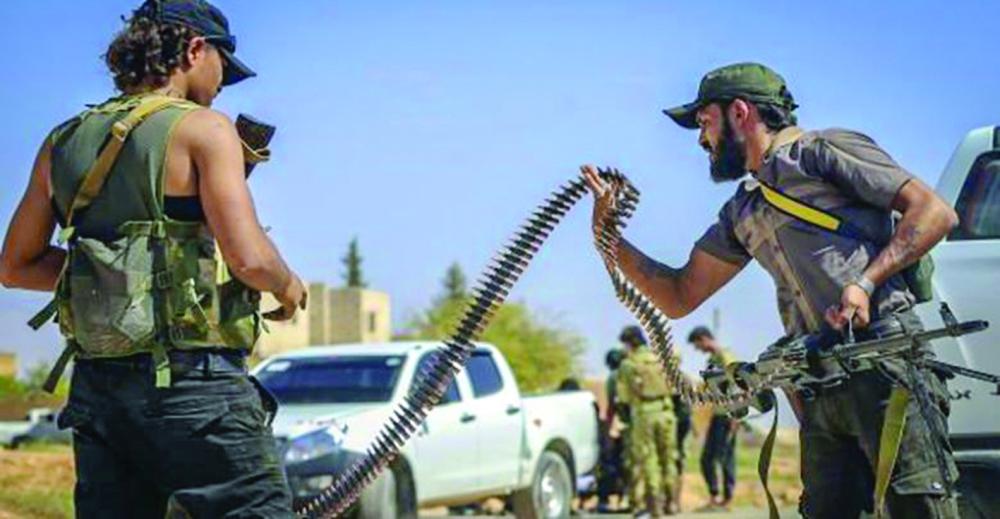 صورة إدلب..مواجهات بين تحرير الشام والوطنية للتحرير