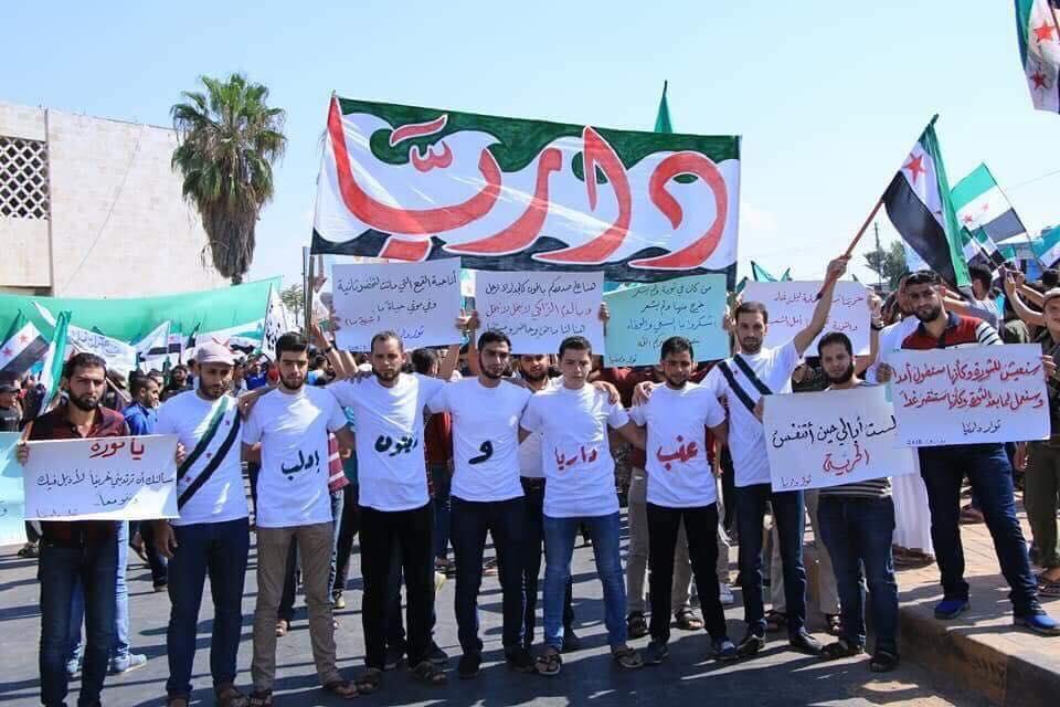 صورة ماذا يفعل الأسد وإيران في داريا والقابون؟