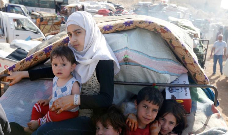 صورة منظمة: نظام الأسد يمنع النازحين من العودة