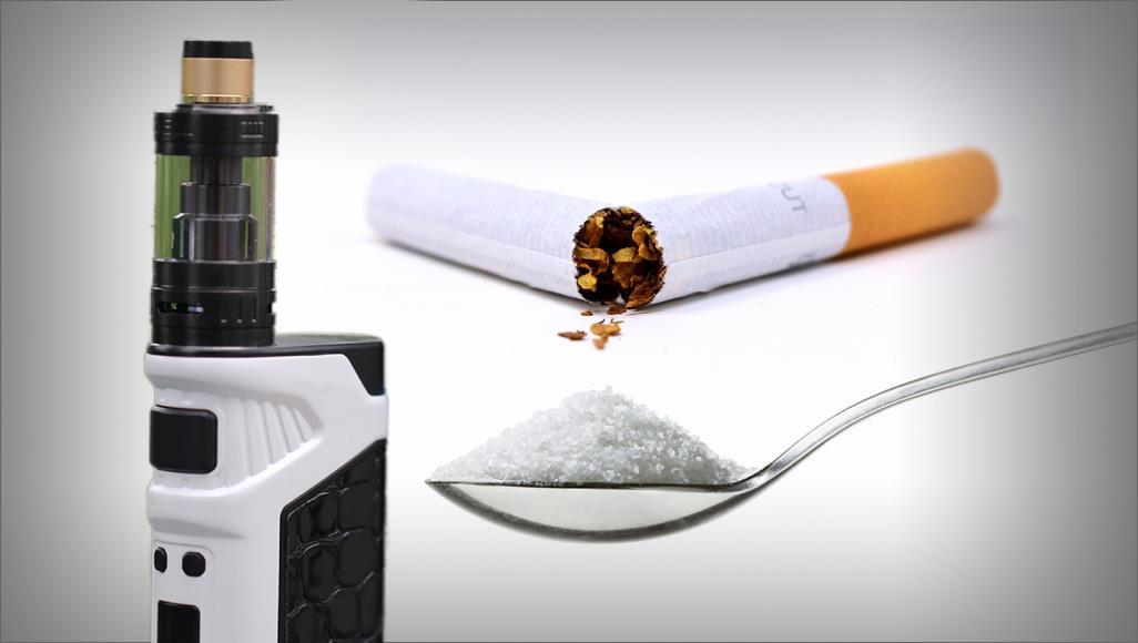 صورة مصيبة جديدة.. السكر يضاف للسجائر