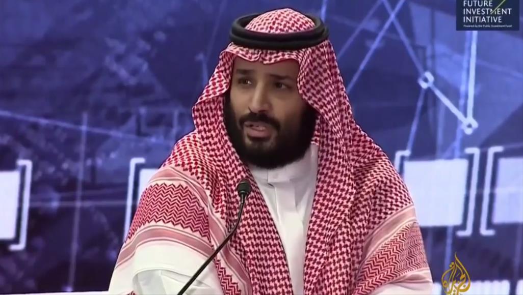 """صورة """"بن سلمان"""" يغازل تركيا ويمتدح قطر"""
