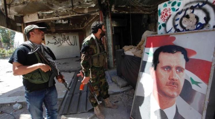 صورة الترويج للأسد بثلاث لغات
