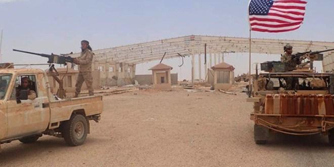 صورة قائد عمليات الجيش الأمريكي يزور قاعدة التنف
