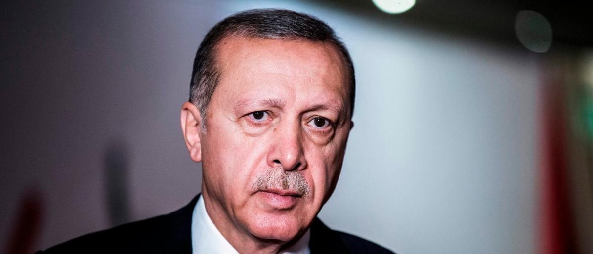 صورة أردوغان: لن نصمت عن حادثة اختفاء خاشقجي