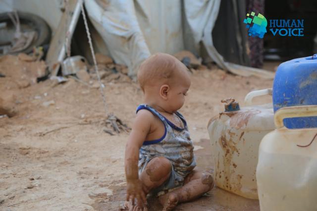 صورة محادثات أردنية روسية لتفريغ مخيم الركبان